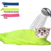Мешок для купания и грумминга кошек/котов, новый