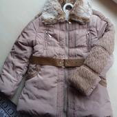 Куртка зимняя фирменная 3-6 лет