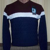 Пуловер тонкий для мальчиков 146,152,158 Турция 2 цвета