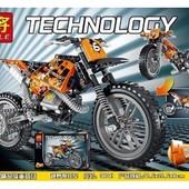 Конструктор Lele Technic Кроссовый мотоцикл 38041 , 253 дет