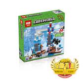 Конструктор 18025 Lepin «Minecraft Ледяные шипы»