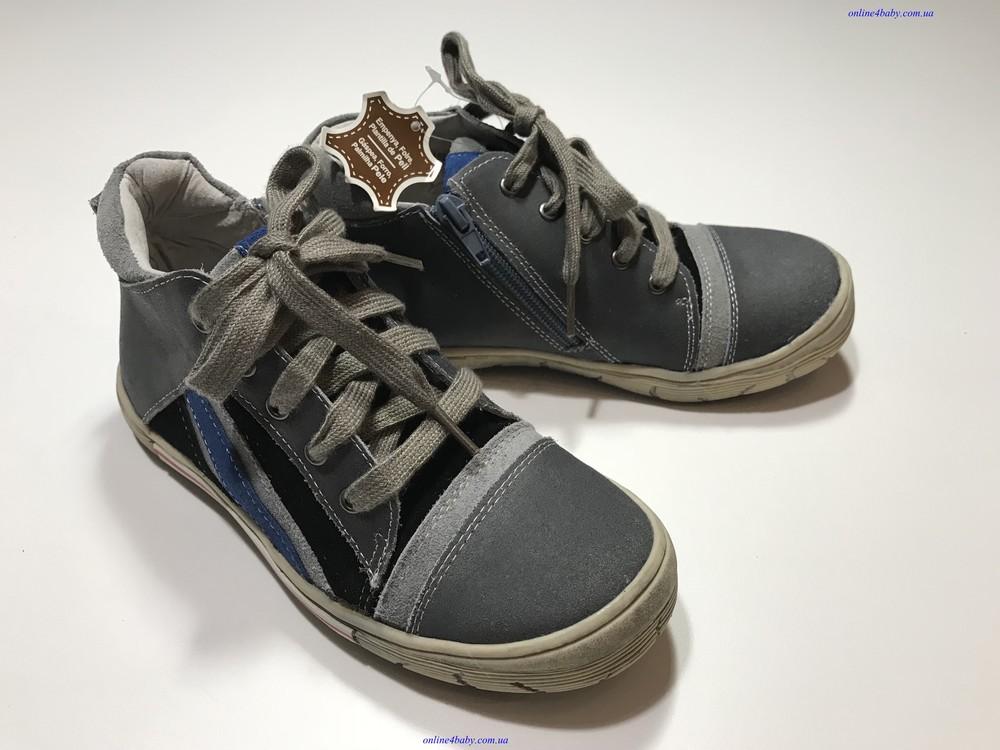 7ea3bab00 Детские кожаные демисезонные ботинки-кеды andre размеры 31, цена 450 ...