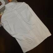 Белоснежная рубашка на парня