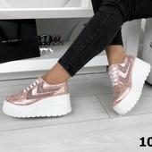 Кроссовки на платформе Pink, кроссовки розовые