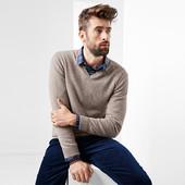 Теплый кашемировый пуловер от ТСМ Чибо(германия) размер 60-62