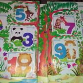 Набор детских книг Цифры