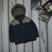 5-6 лет Теплая куртка на меху TU