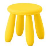 Дитяча табуретка жовта