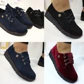 Стильные туфли шнурки новинка