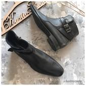 Кожаные классические ботинки Rubber рр 42