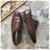 Кожаные туфли броги K shoes рр 42