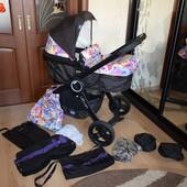 Продам коляску 2 в 1 Chicco Urban Plus Crossover Stroller с текстилем
