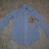 рубашка Ralph lauren на 3 года оригинал рост 98 в сост новой