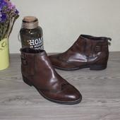 41 26,5см Tamaris Кожаные ботинки с ремешками оксфорды на низком ходу
