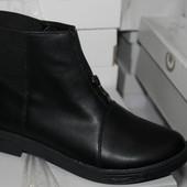 Демисезон ботинки,  натуральные материалы, кожа, замша, с 36-40р.