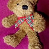 Мягкая игрушка Мишка Тедди Германия оригинал коллекционный фирма SunKid