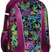 Рюкзак школьный Kite каркасный 703 Flowery K18-703M-2