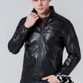 Кожаная куртка мужская Braggart - 1638
