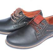 Кожаные мужские туфли GSL 1016, 2 цвета