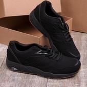 Мужские кроссовки 17733-4 черные