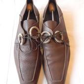 Муж.кожаные туфли Cesare Paciotti p.7 дл.ст 28-28,5 см