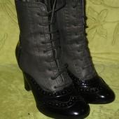 Ботинки деми Graceland 37 р-р 23.5 см стелька, состояние новых, 250 грн
