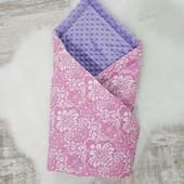 Конверт-одеялко-пледик с благородного Чешского Дамаска