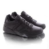 Стильные мужские черные кроссовки
