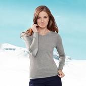 Базовая вещь демисезонно-зимнего гардероба - хлопковый свитерок от Tchibo, Германия