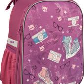 Рюкзак школьный ортопедический kite Кайт cool girl для девочки 1-4 кл