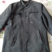 Пальто деми BP (Турция). Размер 52-54. 50% шерсть.