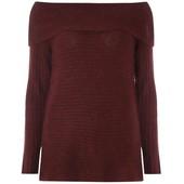 Классный свитерок с открытыми плечами, р-р 12 евро 40,новый
