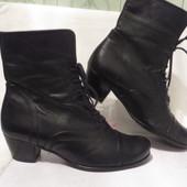 Ботинки Кожа Gabor 38 размер