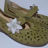 Туфли женские,кожаные, Ara (Германия), размер 37