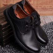 Мужские туфли на шнуровке! в наличии! новые! 40-45 р!