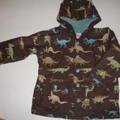 Фирменная куртка дождевик Динзаврики мальчику 2-3 лет идеал