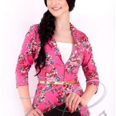 Женский короткий пиджак-3 цвета