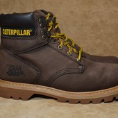 Ботинки Caterpillar 2nd shift steel toe tan. Оригинал. 40 р./25.3 см.