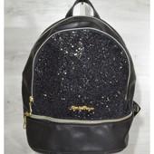 СП. Молодежный рюкзак c черными блесками