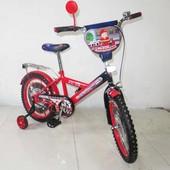 Велосипед Tilly Пожежник 18 T-21829 red + black