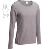 Женская футболка 100 c длинным рукавом для спорта и дома Domyos код 8380747 Оригинал ЄС