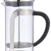 Заварочный чайник Френч-пресс 600мл нерж Con Brio CB5560