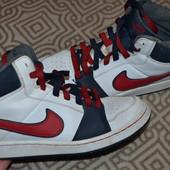 высокие кроссовки Nike оригинал 24 см 37 размер кожа