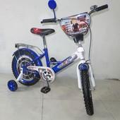 Велосипед Tilly Поліцейський 16 T-216211 blue + white