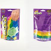 "Кинетический песок ""Kidsand"" в пакете 600 гр, Danko toys( KS-03-02)"