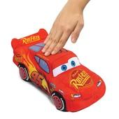 Говорящий мягкий МакКвин Cars 3 мягкая игрушка машинка МакКвин