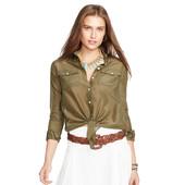 Рубашка Lauren Ralph Lauren Cotton-Silk