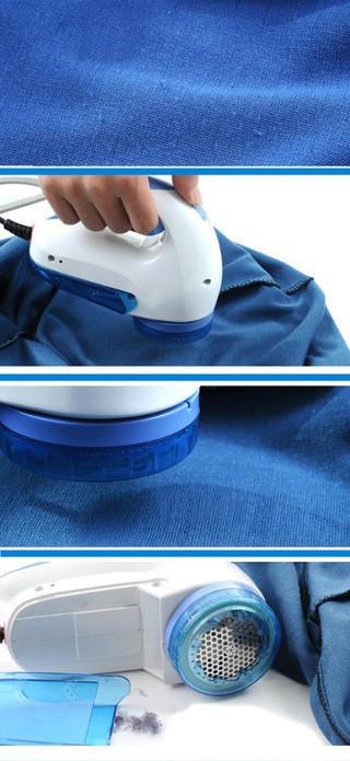 Машинка триммер для стрижки одежды от катышек катышков от сети. подарок фото №4
