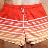 Яркие пляжные купальные шорты размер L, 19-1 Ю