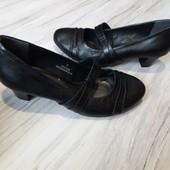 Кожаные туфли Footglove 5р. 24-24,5 см